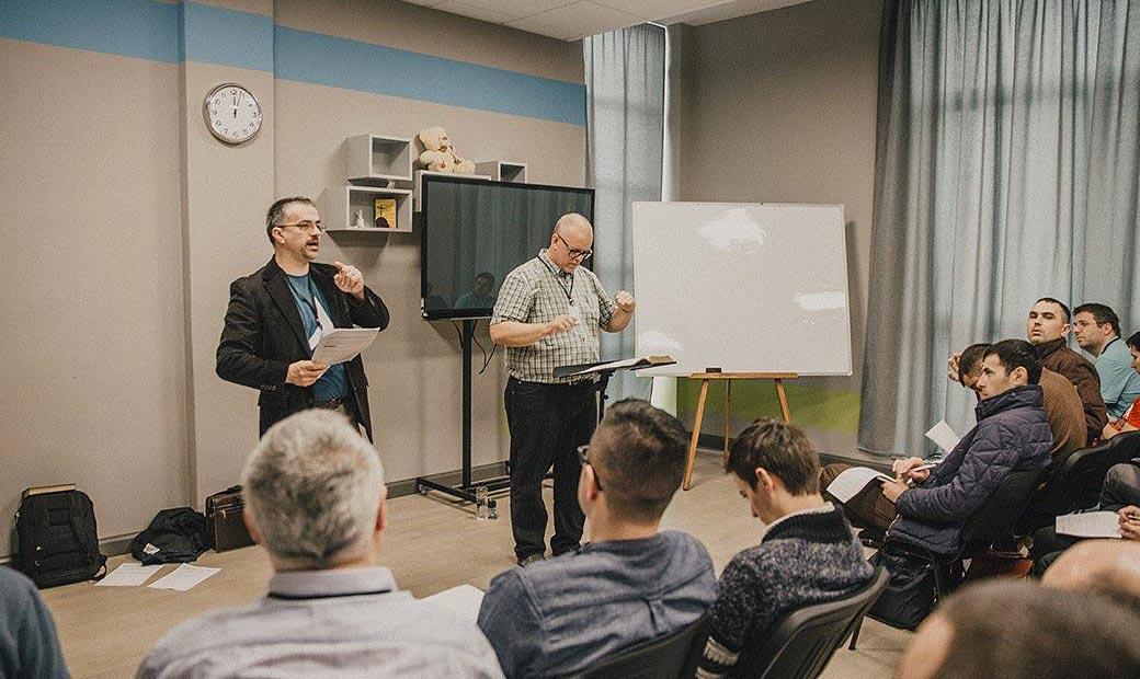Instruire la centrul de plantare de biserici Harvest