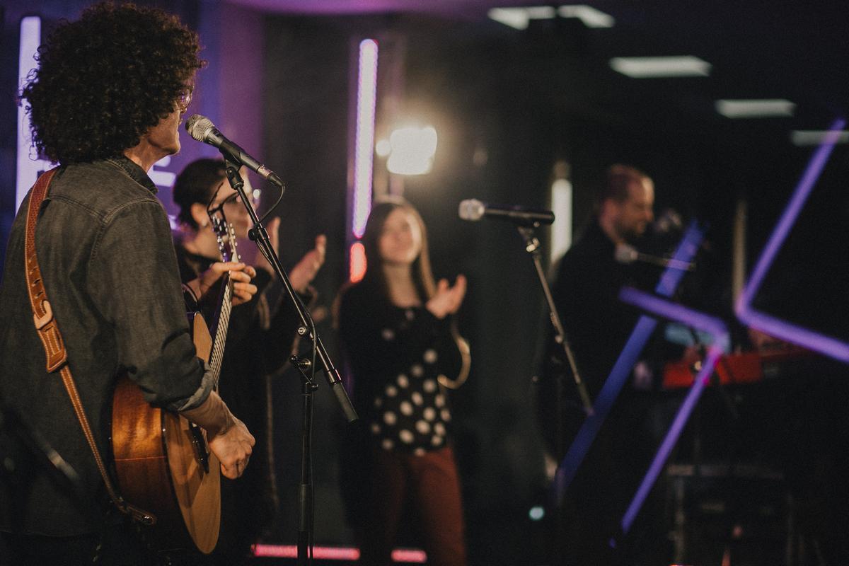Church album launch – Adorare