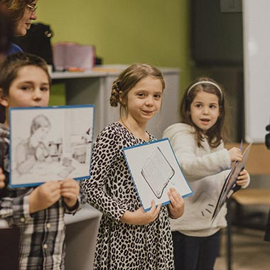Harvest Arad - Lucrarea cu copiii