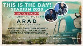 This Is The Day! (Ez az a nap!) Roadshow Arad